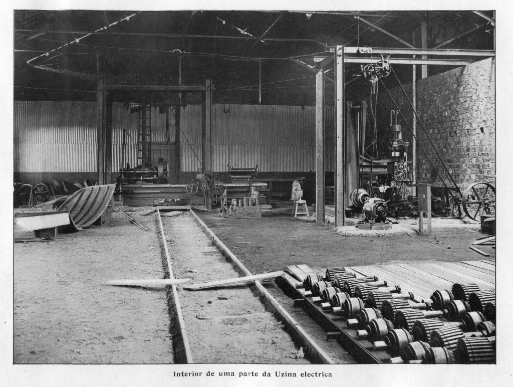 Interior da Usina Elétrica de Manaus