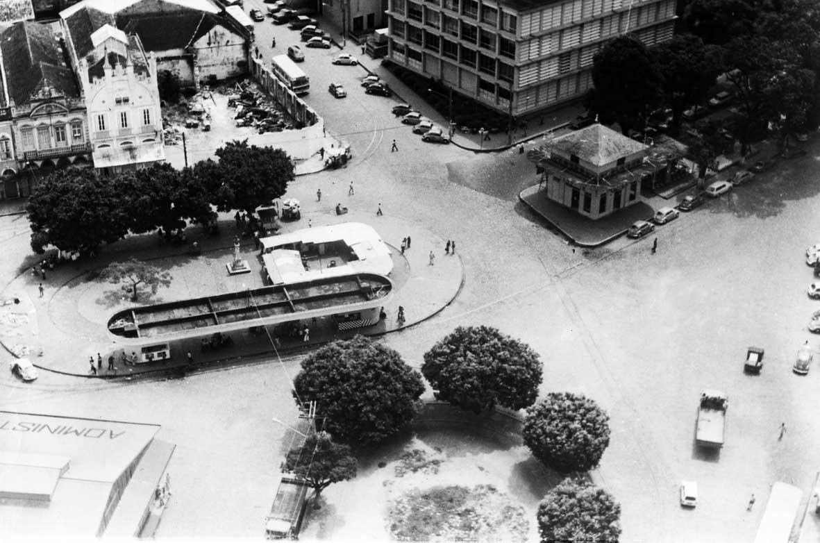 Jardim Jaú na Estação dos Bondes