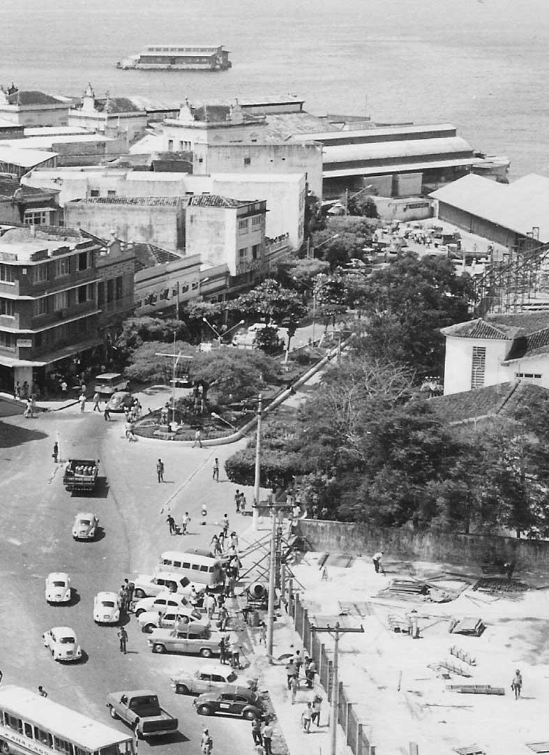 Imagem do Extinto Jardim Tamandaré