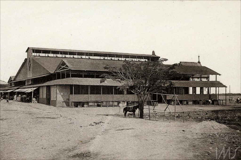Mercado Adolpho Lisboa em 1890 - Instituto Durango Duarte