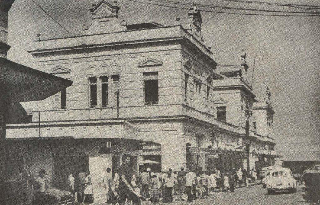 Fachada principal do Mercado Municipal