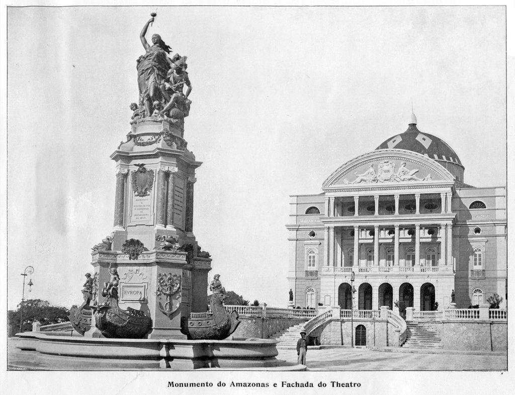 Monumento à Abertura dos Portos e o Teatro Amazonas - IDD