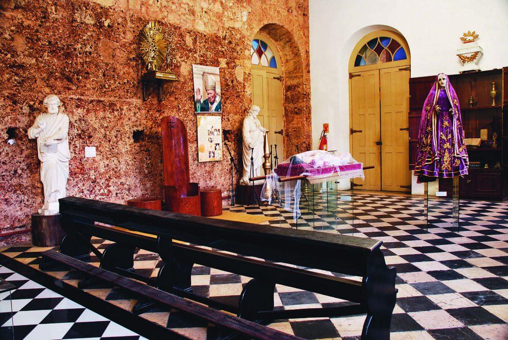 Interior do Museu da Catedral de Nossa Senhora da Conceição