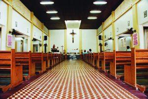 Durango Duarte - Nave central da Igreja de Santa Luzia