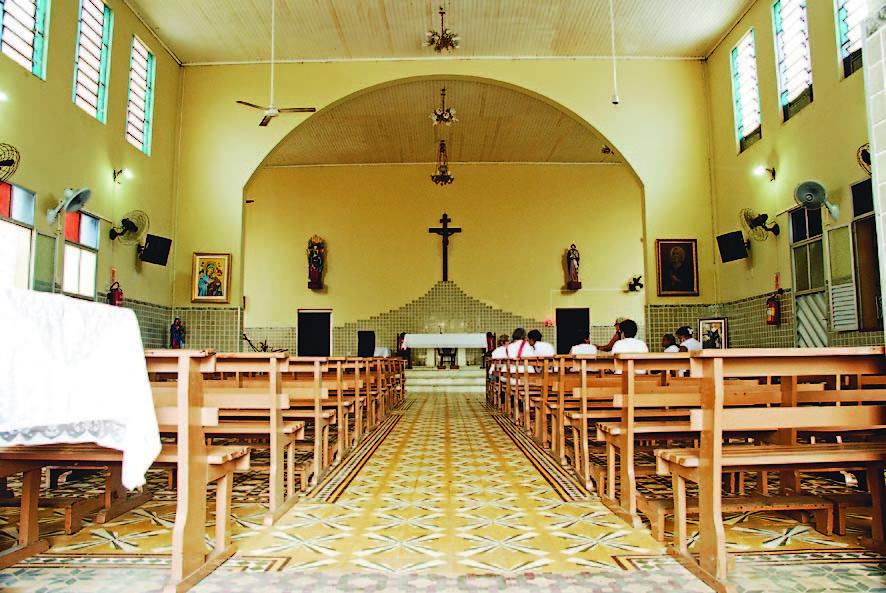 Nave Central da Igreja de Nossa Senhora do Perpétuo Socorro