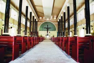 Durango Duarte - Nave central do santuário de Nossa Senhora Aparecida