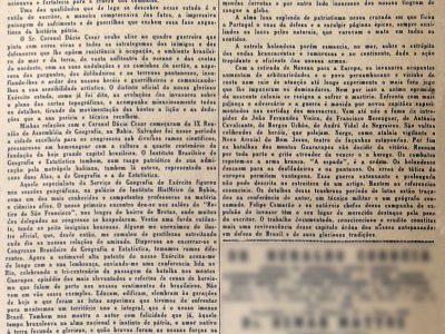 Estudo do S.G.E. sobre a Ocupação Holandesa no Brasil
