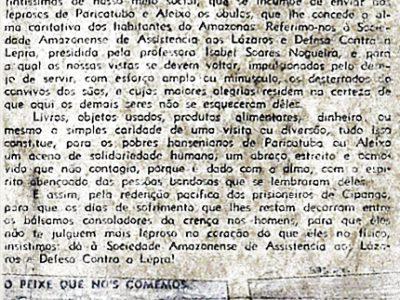 Sociedade Amazonense de Assistência aos Lázaros