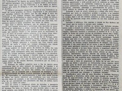Anisio Jobim e suas impressões sobre salvador