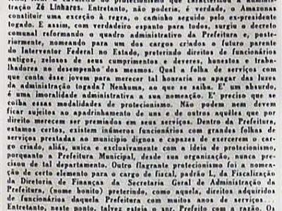 Nomeação de Vicente de Mendonça Júnior