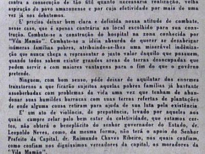 Bairro operário da Cachoeirinha