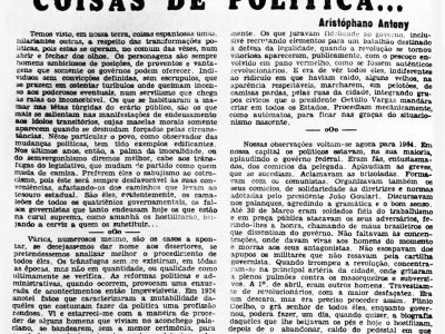 Governador Plínio Ramos Coelho perde Apoio