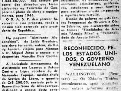 Estados Unidos Reconhece Governo da Venezuela