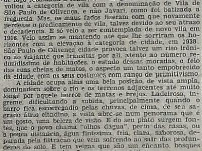 Aspectos de São Paulo de Olivença