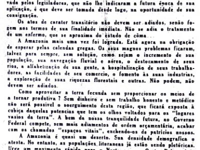 A Amazônia lograda, de Agnello Bittencourt
