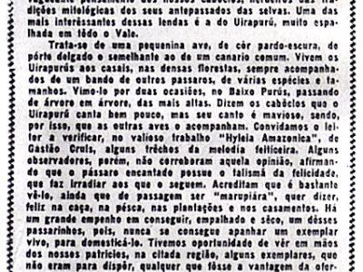 A lenda do Uirapurú, de Agnello Bittencourt