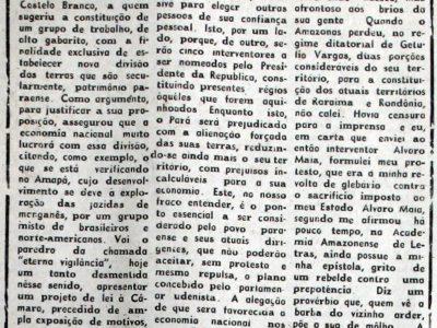 Projeto de Lei autoriza o Governo a dividir o Estado do Pará