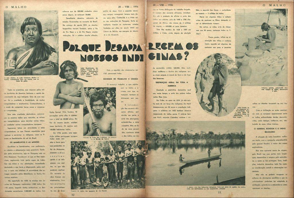 Porque desaparecem os nossos indígenas?