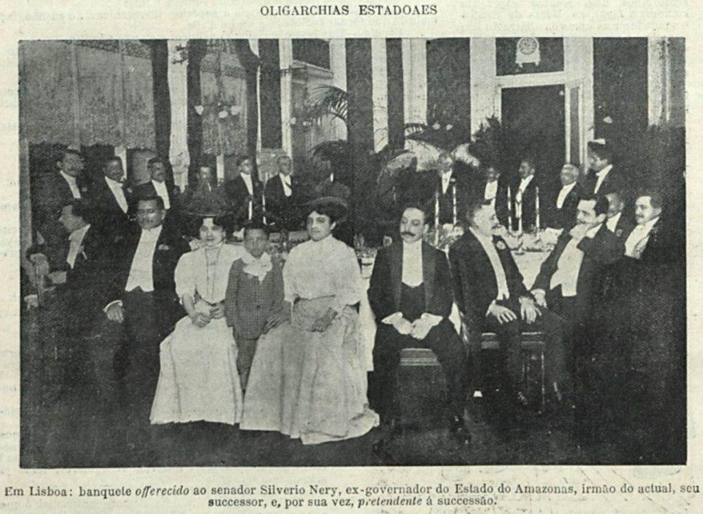 Banquete oferecido a Silvério Nery