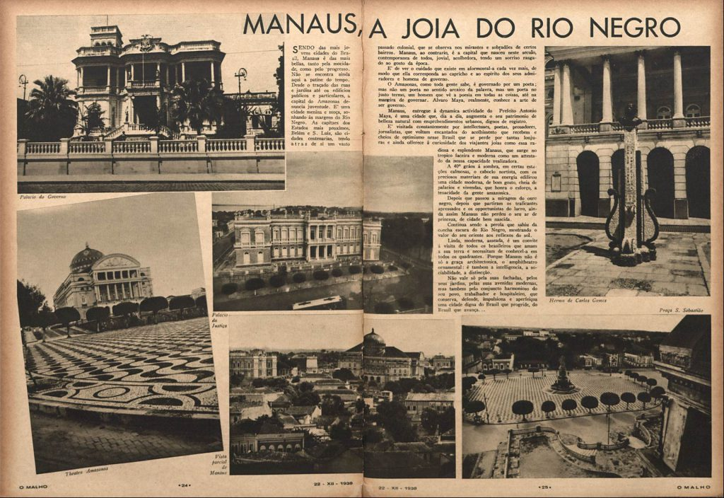 Manaus a joia do Rio Negro