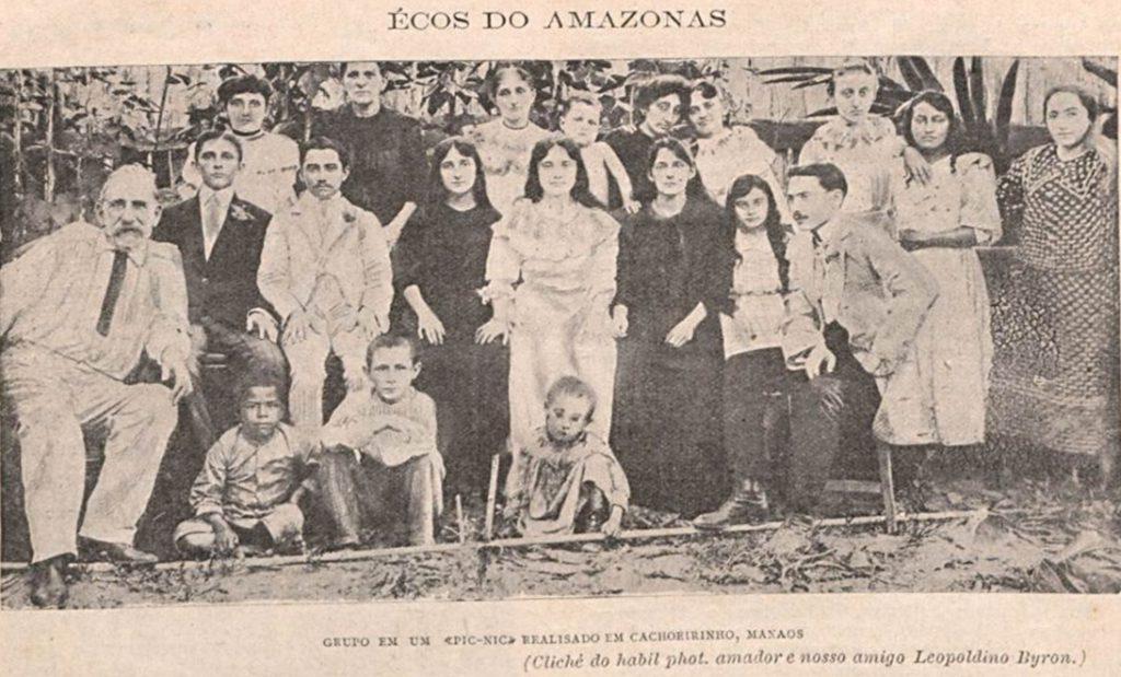 Piquenique realizado em Cachoeirinha