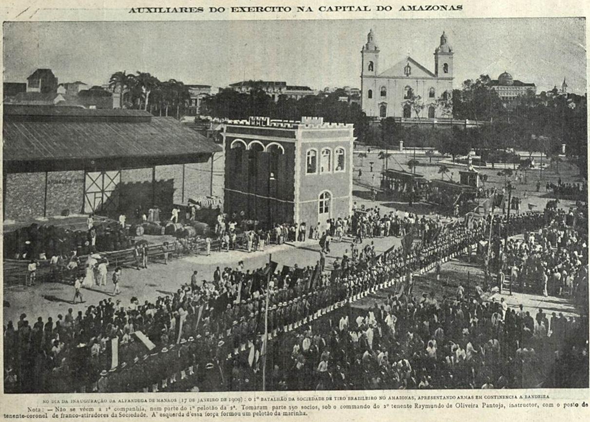 Inauguração da Alfândega de Manaus