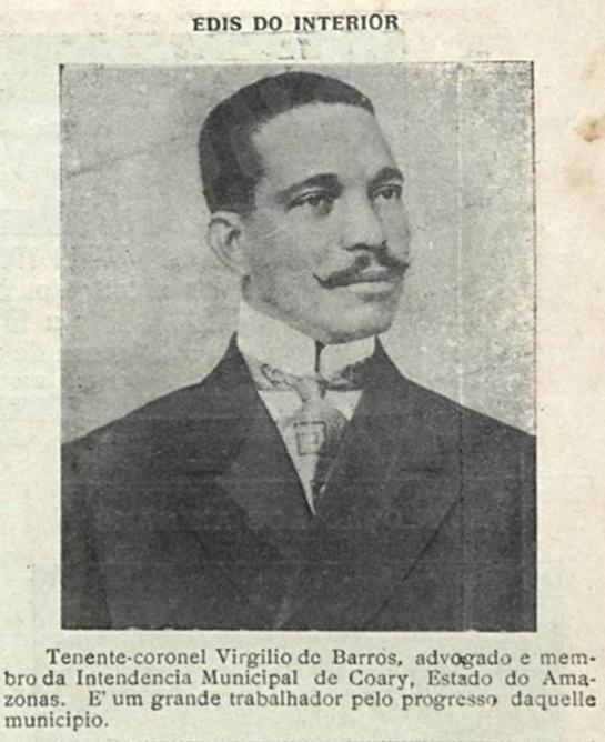 Tenente coronel Virgílio de Barros