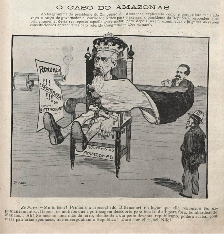 Antonio Bittencourt Retoma seu Cargo de Governador
