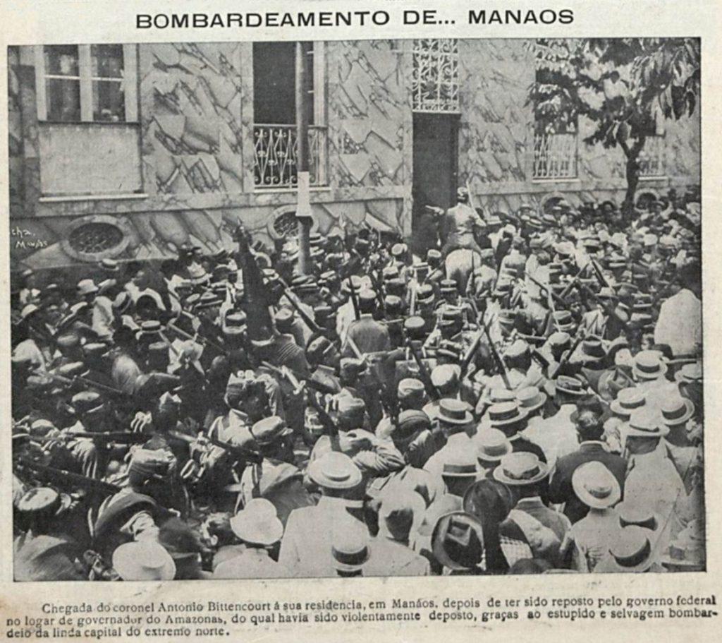 Multidão recebe Antonio Bittencourt