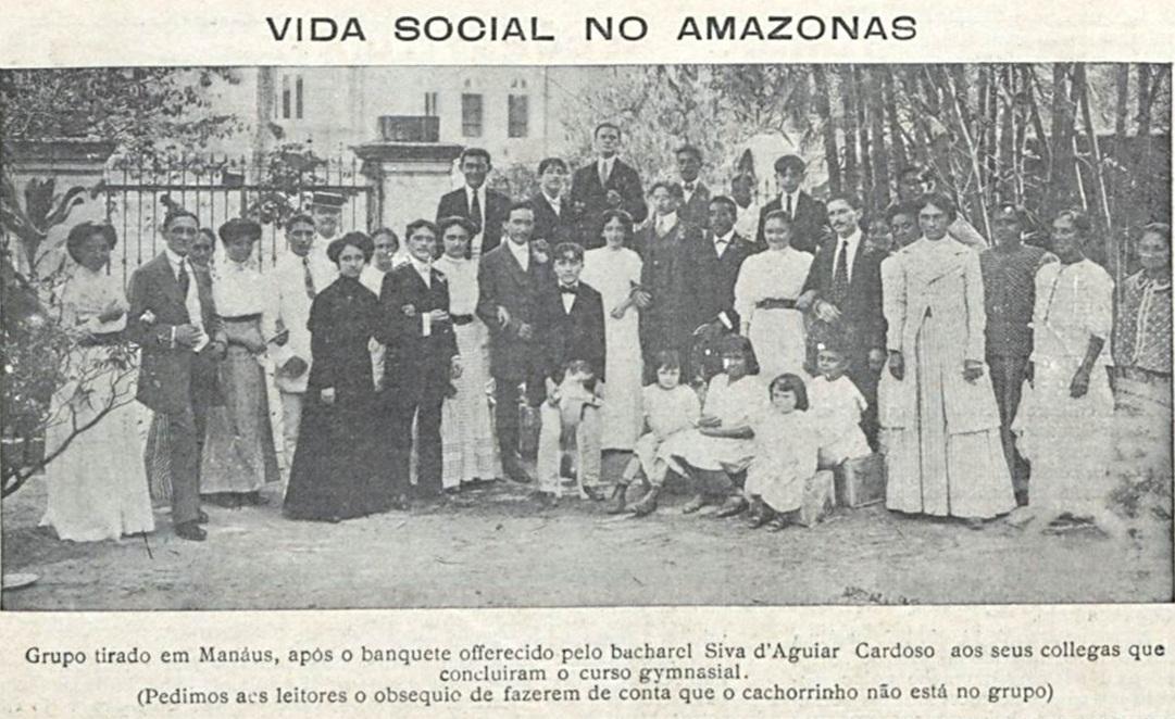 Formandos do Curso Ginasial em 1910