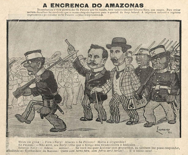 Sá Peixoto e Silvério Nery São Vaiados em Manaus
