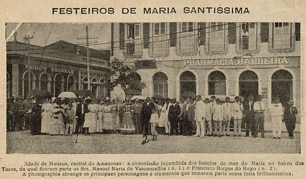 Festejo religioso em Manaus