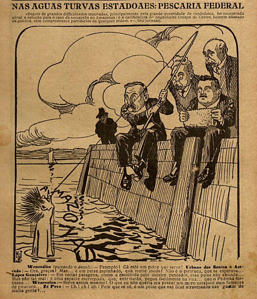 Sucessão ao Governo do Amazonas em 1916