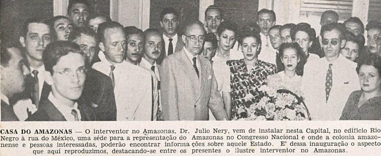 Interventor Júlio Nery inaugura Representação do Amazonas