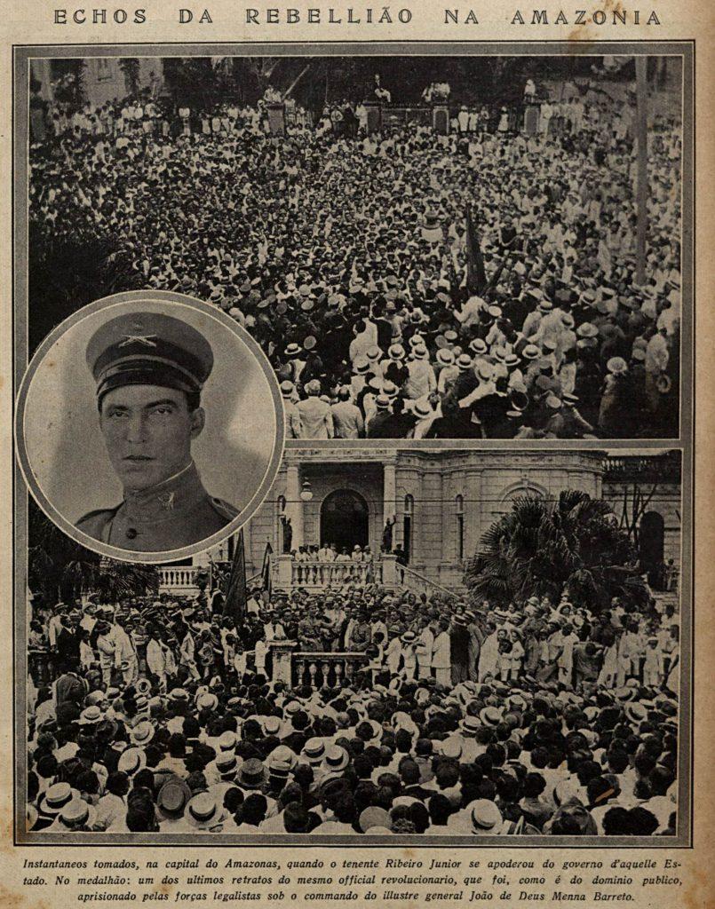Ribeiro Júnior e o governo do Amazonas em 1924