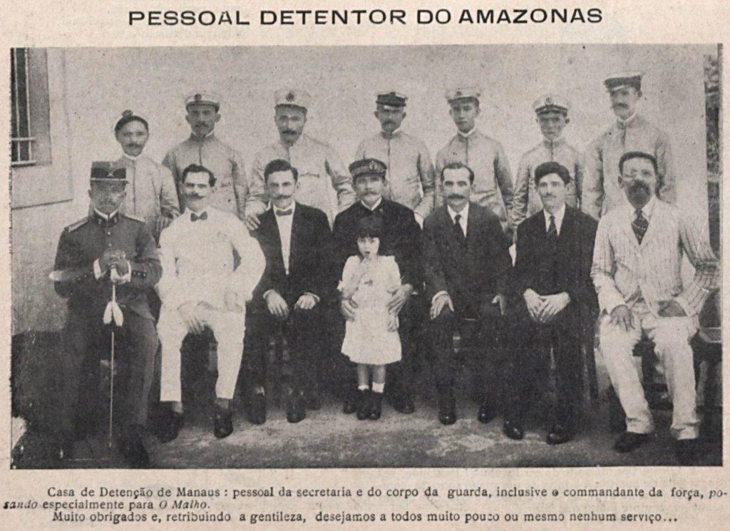 Funcionários da Casa de Detenção de Manaus