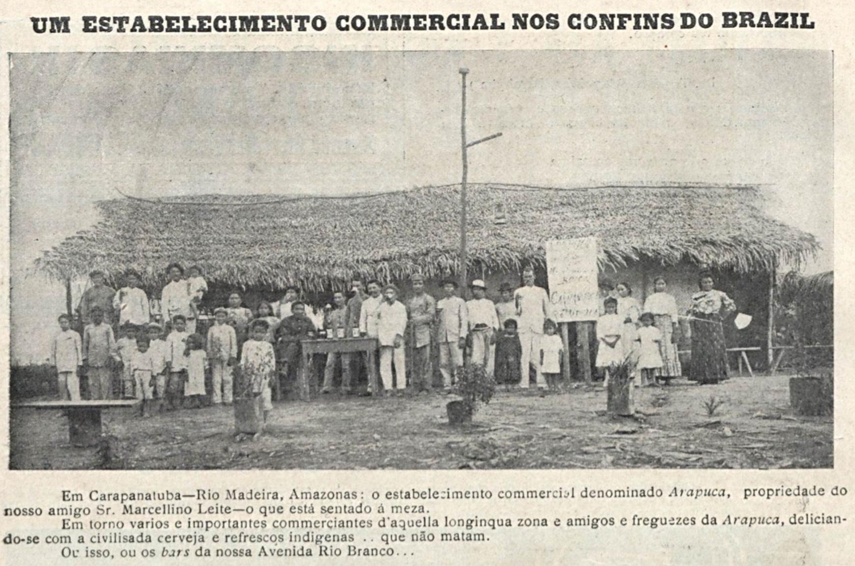 Estabelecimento comercial Arapuca