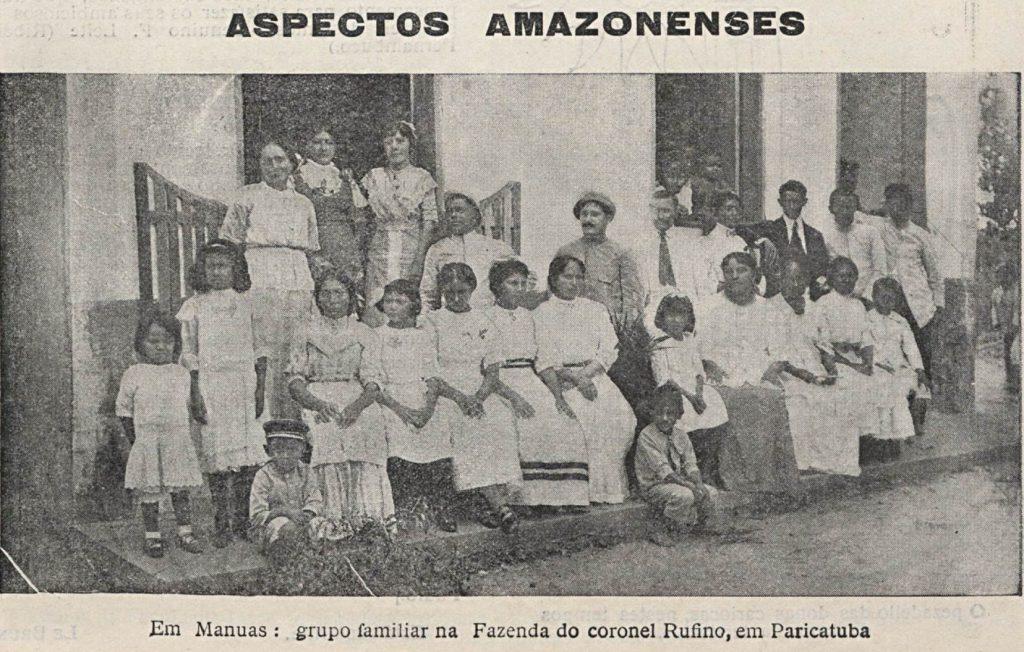 Família reunida em Paricatuba