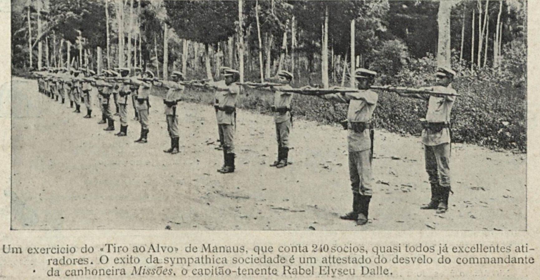 Treinamento do Grupo de Tiro ao Alvo de Manaus
