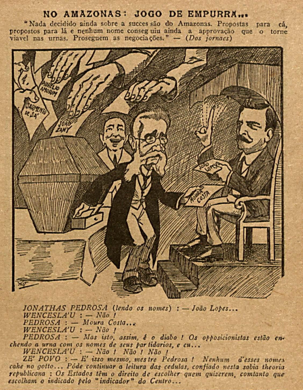 Impasse na Sucessão ao Governo do Amazonas em 1916