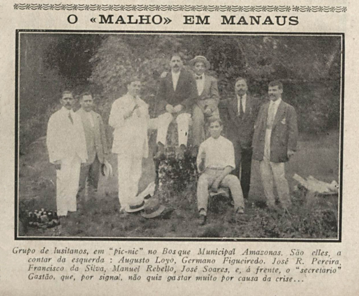 Lusitanos no Bosque Municipal Amazonas