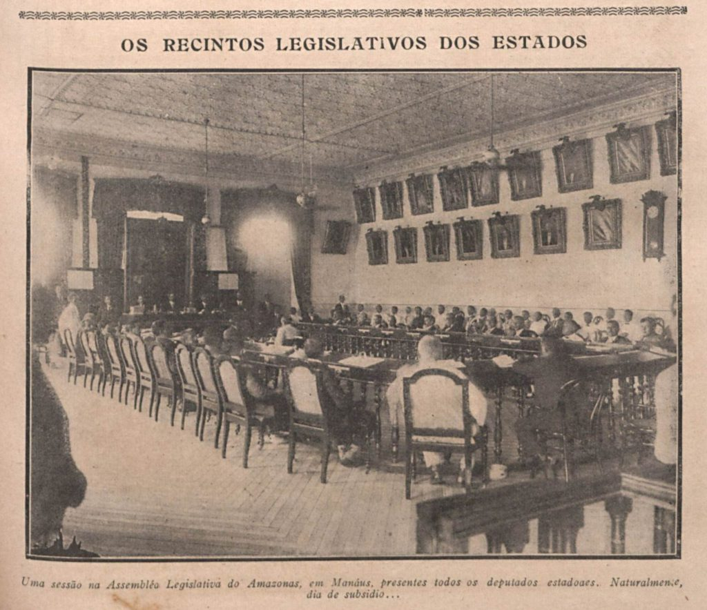 Sessão da Assembleia Legislativa do Amazonas