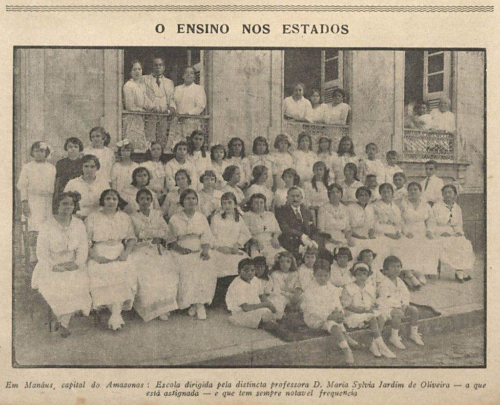 O ensino no Amazonas no ano de 1916