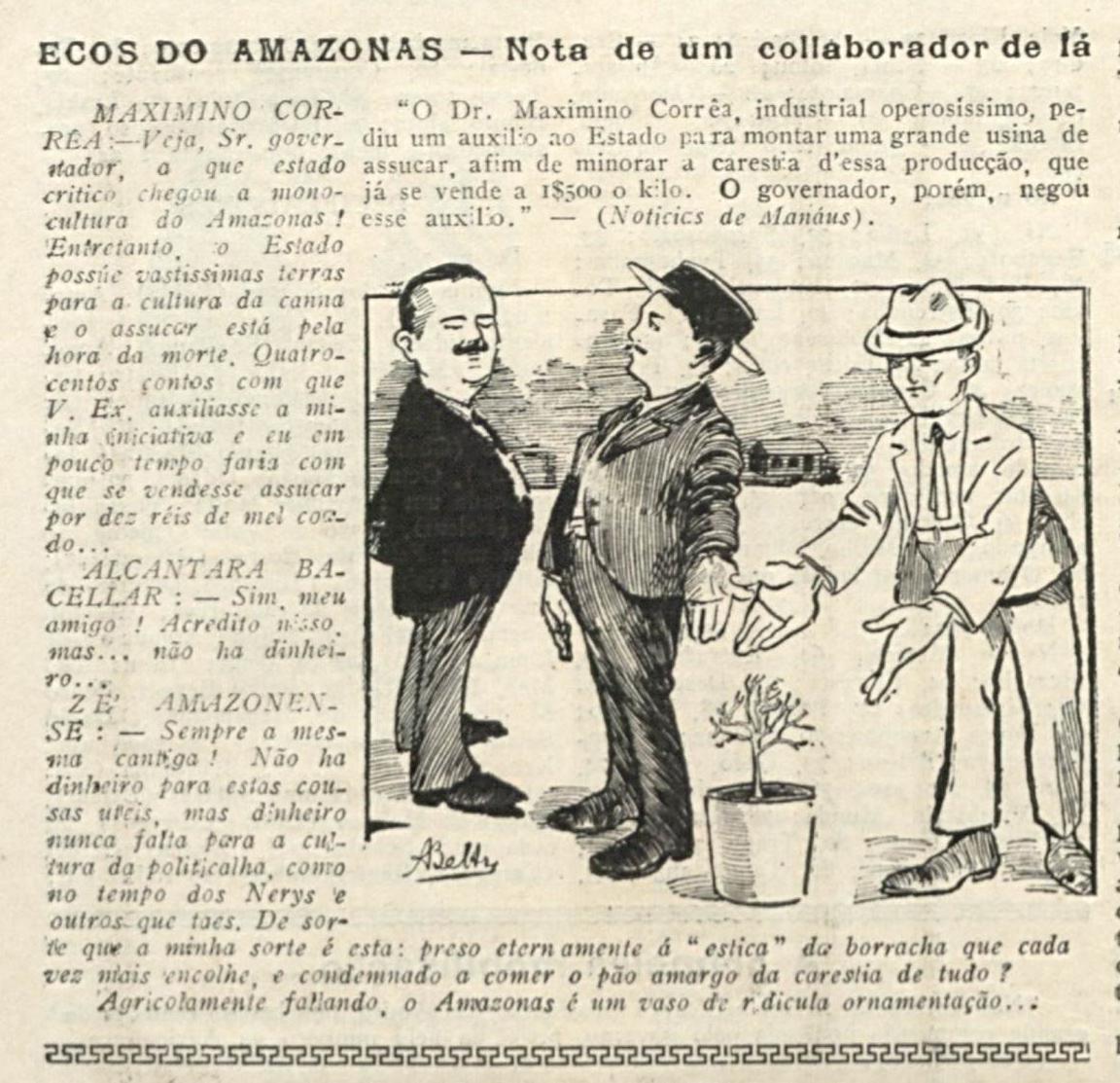 Maximino Corrêa e a indústria de açucar