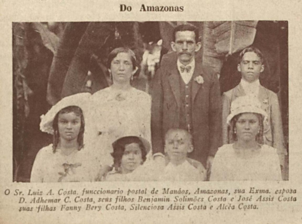 Família de Luiz A. Costa