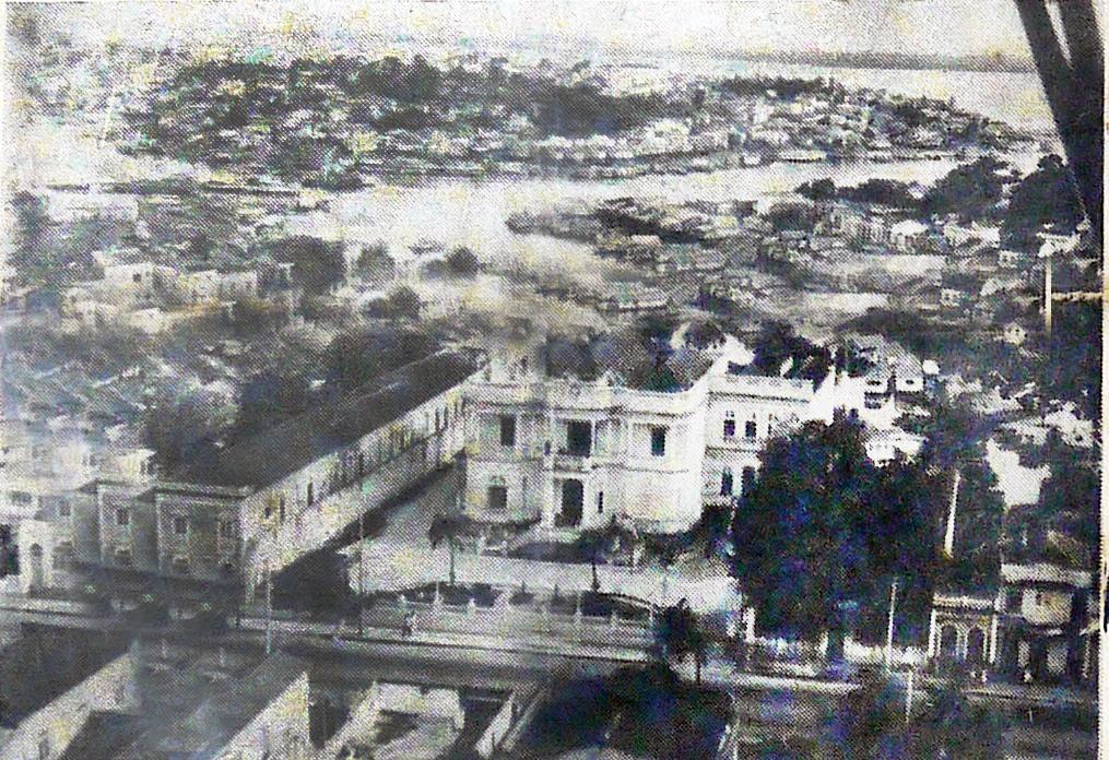 O panorama do alto é visto melhor, Palácio Rio Negro