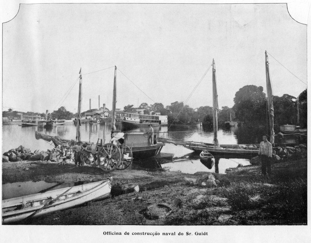 Oficina de Construção Naval do Sr. Guidt (parte 1)