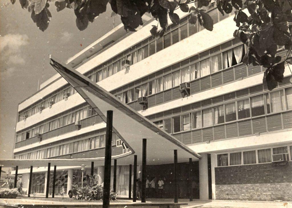 Fotografia do então Palácio Rodoviário - Instituto Durango Duarte