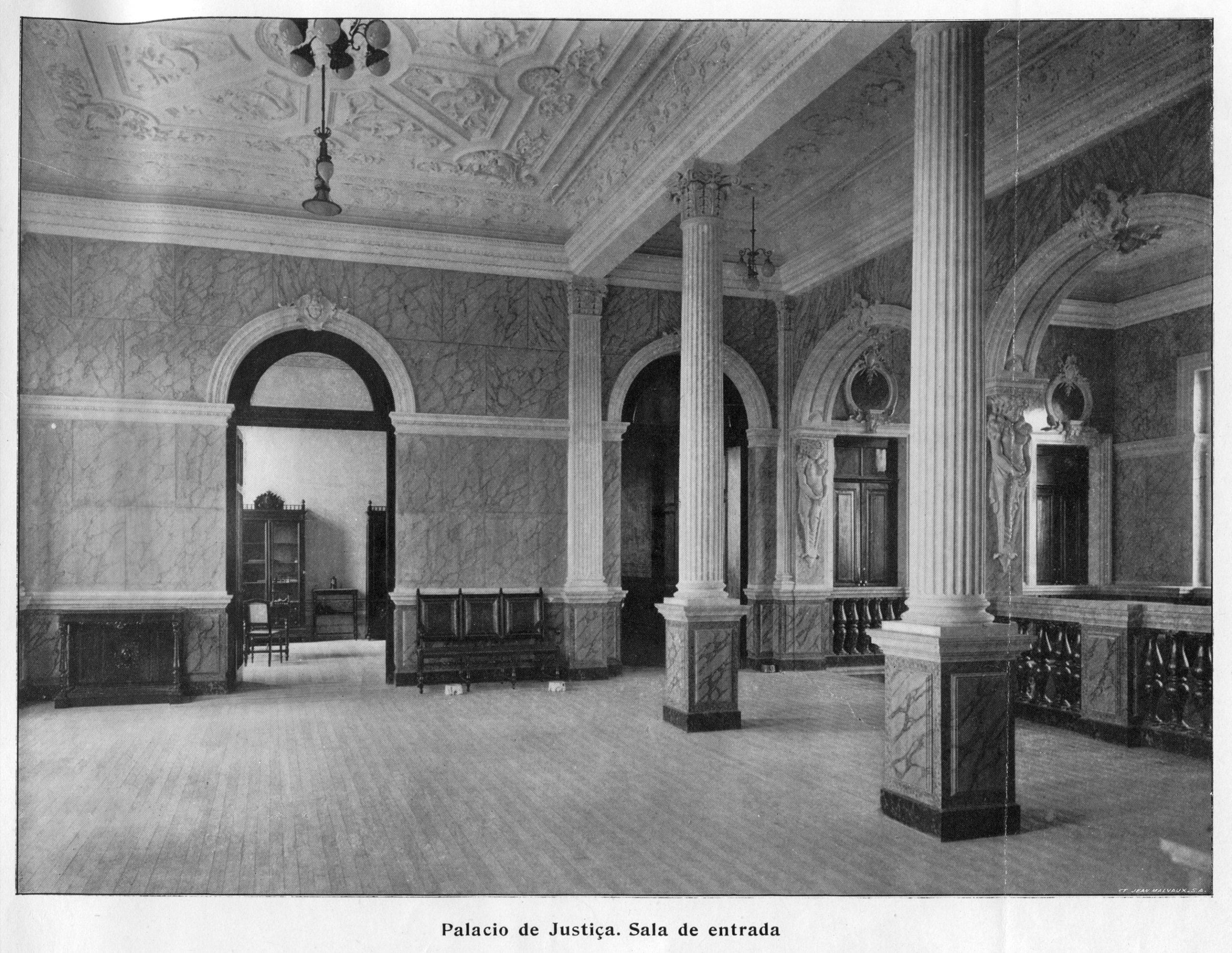 Sala de Entrada do Palácio da Justiça