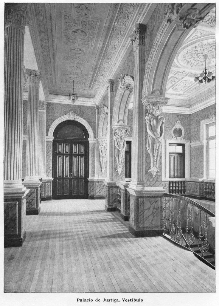 Vestíbulo do Palácio da Justiça